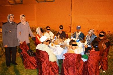 جمعية أم المؤمنين عائشة تزرع الابتسامة في قلوب السجناء بابن جرير.