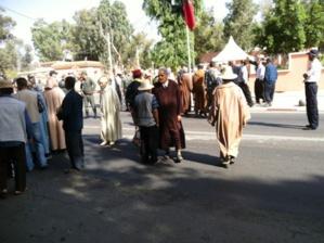 الجمعية المغربية لحقوق الإنسان تدين  في بيان لها مواقف السلطات الإقليمية تجاه فلاحي دائرة الرحامنة.