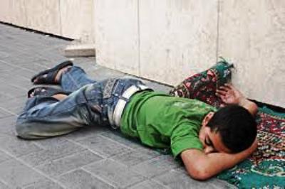 استفحال ظاهرة  التسول والتشرد والاطفال الجانحين بابن جرير