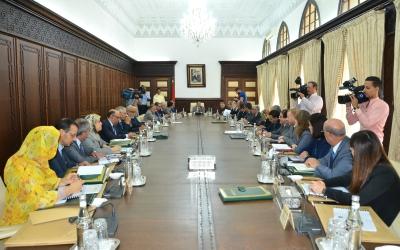 اجتماع مجلس الحكومة ليوم الخميس 12 اكتوبر2017