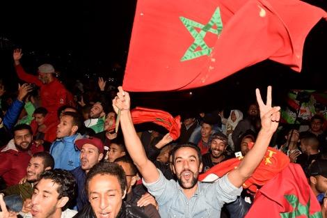 هيرفي رونار وأبناء المهاجرين المغاربة يمنحون المغاربة لحظة فرح مفتقدة.