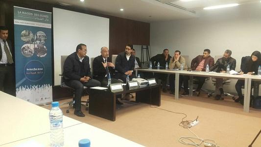 """يوم دراسي بمدينة مراكش حول : """"دار الشباب والادماج الاجتماعي للشباب : الادوار ونمط الحكامة"""""""