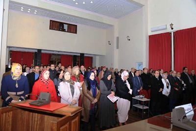 ولوج النساء إلى العدالة موضوع الندوة العلمية المنظمة من طرف المكتب الجهوي للودادية الحسنية للقضاة بخريبكة بمناسبة اليوم العالمي للمرأة