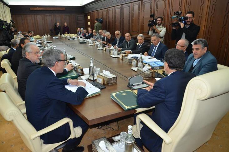 الاجتماع الأسبوعي لمجلس الحكومة ليوم الخميس 22 مارس 2018