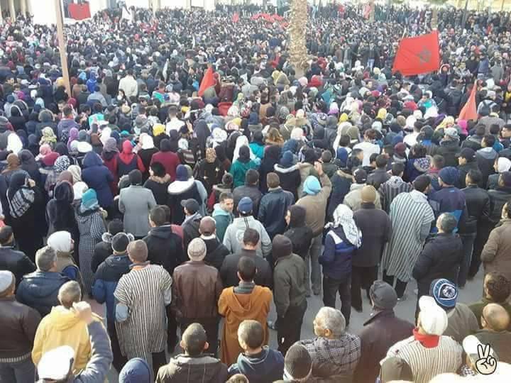 الرابطة المغربية للمواطنة وحقوق الإنسان… بلاغ حول تصعيد السلطات المغربية ضد المحتجين بجرادة