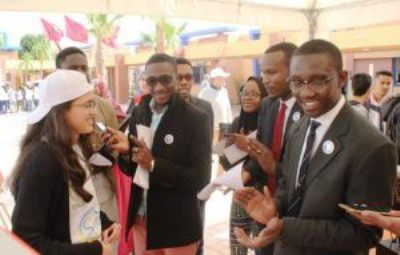 """الايام الثقافية والفنية والتربوية التي ينظمها معهد الترقية الاجتماعية والتعليمية بالحاضرة الفوسفاطية تحت شعار"""" اليد في اليد من اجل افريقيا الغد"""""""
