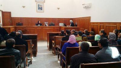 انطلاق اول جلسة رقمية بالمحكمة الابتدائية بابن جرير
