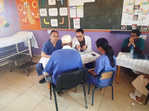 أزيد من 650 مستفيد من قافلة طبية متعددة التخصصات بجماعة آيت الطالب - إقليم الرحامنة