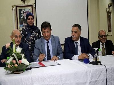 التعاضدية العامة للتربية الوطنية توقع أول  اتفاقية جماعية في القطاع التعاضدي بالمغرب