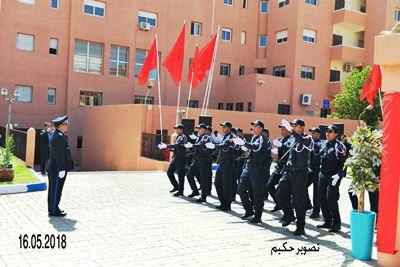الامن الاقليمي بابن جرير يحتفل بالذكرى 62 على تأسيس الامن الوطني .