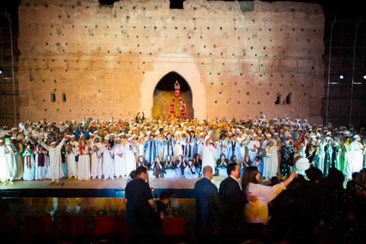 نجاح كبير للدورة التاسعة والأربعين للمهرجان الوطني للفنون الشعبية بمراكش من 03 إلى 07 يوليوز 2018