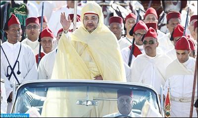 عيد العرش المجيد...مناسبة متجددة تجسد عمق ما يربط العرش بالشعب من اواصر الولاء الدائم والبيعة الوثقى والتلاحم العميق.