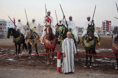 مهرجان موسم سيدي امحمد بن  عزوز يرى النور بعد انقطاع وطول انتظار استمر سنوات .