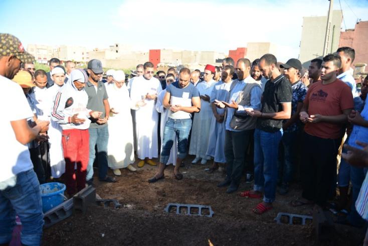 اقليم الرحامنة : جنازة مهيبة لضحايا سيول الجعافرة