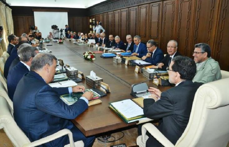 تقرير عن أشغال اجتماع مجلس الحكومة ليوم الخميس 18 اكتوبر 2018