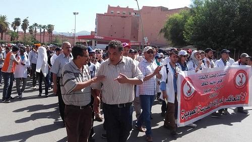 نقابة تعليمية تعلن عن انخراطها الميداني في الإضراب الوطني للأساتذة المتعاقدين