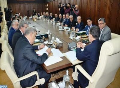 تقرير عن أشغال الاجتماع الأسبوعي لمجلس الحكومة ليوم الخميس  ليوم الخميس 01 نونبر 2018