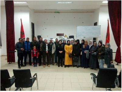 جمعية الرحامنة للتربية والتكوين البيداغوجي والأعمال الاجتماعية تنظم دورات تكوينية لاجتياز مباريات التعليم بالتعاقد.
