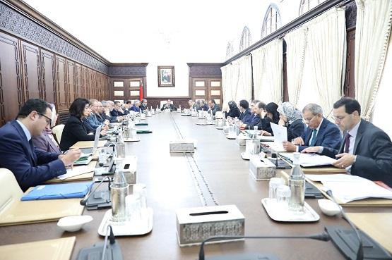 تقرير عن أشغال اجتماع مجلس الحكومة ليوم 27 دجنبر 2018