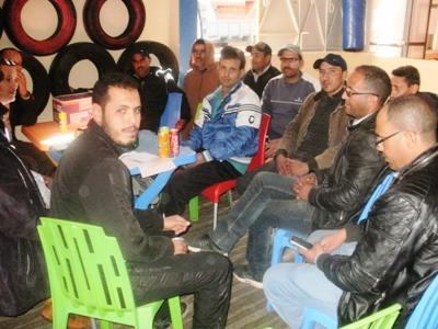 جمعية نور الرحامنة لارباب شاحنات نقل مواد البناء بابن جرير  تعقد جمعها العام التأسيسي