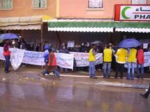 ابن جرير : الشغيلة تحتفل بعيدها الأممي في جو احتفالي ممطر
