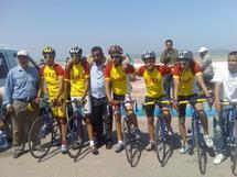 دراجو نادي شباب الرحامنة للدراجات بتألقون في سباق مدينة الصويرة