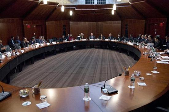 الوفد المغربي المشارك في الجولة السابعة من المفاوضات غير الرسمية حول الصحراء يصل إلى مانهاست