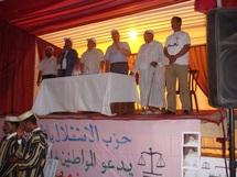 عبد اللطيف ابدوح يدشن سلسلة اللقاءات التواصلية لشرح وتفسير مضامين الدستور الجديد من مدينة ابن جرير