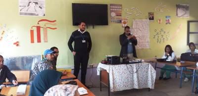 تقرير حول القافلة البيداغوجية لجمعية الرحامنة للتربية والتكوين البيداغوجي والأعمال الاجتماعية.