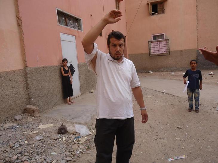 حول الاعتداء على الأستاذ هشام لمراني بابن جرير..جريمة الاعتداء ثابتة