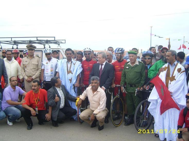 والي جهة كلميم السمارة يترأس سباق الوطية الأول  وعامل إقليم طانطان يسلم جوائز الفائزين
