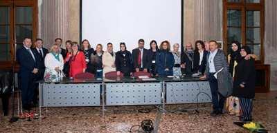 """الأستاذة كوثر بدران تفتتح أعمال المؤتمر القانوني الدولي الثالث بإيطاليا بعنوان : """"المرأة والحقوق في حوض البحر الأبيض المتوسط"""""""