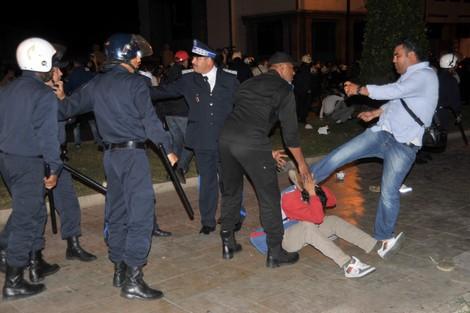الأطر العليا المعطلة و 20 فبراير في مسيرة ضد البطالة