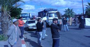 ابن جرير: المعطلون ينظمون وقفة احتجاجية و السلطات تحاصرهم