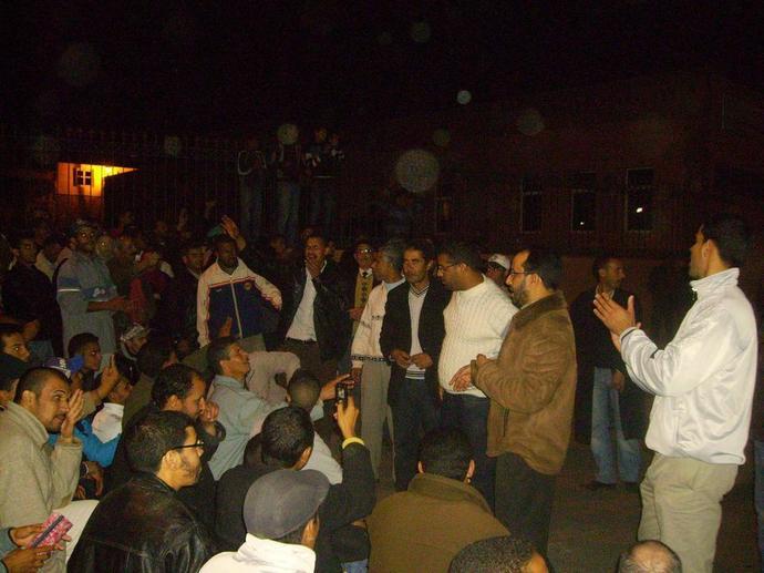 إطلاق سراح نشطاء حركة 20 فبراير بابن جرير