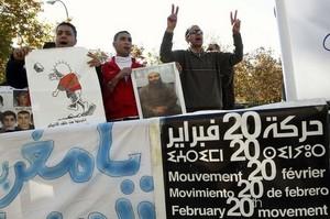 """حركة 20 فبراير تهنّئ الشعب المغربي على """"مقاطعة"""" الانتخابات"""