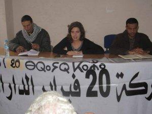 20 فبراير البيضاء: الانتخابات التفاف على مطالب الشعب ولا حوار مع المخزن أو غيره
