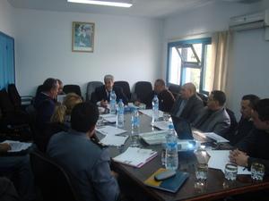 مجلس التنسيق للمرصد الجهوي للعنف بالوسط المدرسي بجهة طنجة تطوان