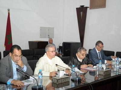 الوالي قسي لحلو يترأس اجتماعا بخصوص معالجة المباني المهددة بالانهيار بمدينة مراكش