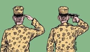 """قضية انتحار الجندي. أدخل مسدسا في فمه وجثته في الرباط وهاتفه يكشف أسرارا تقدم """"كود"""" بعضها"""