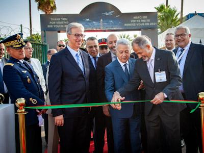 انطلاق الدورة الثالثة لمعرض الطيران الخاص بمدينة مراكش.