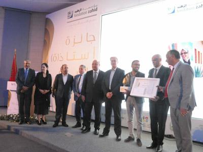 والي جهة مراكش اسفي كريم قسي لحلو يترأس حفل تتويج الفائزين بالنسخة الأولى من جائزة أستاذ السنة 2018/2019.