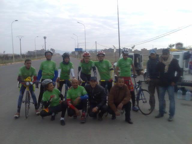 نادي شباب الرحامنة للدراجات يتوج في سباق تمنصورت بمراكش
