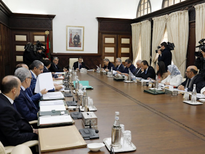 تقرير عن أشغال اجتماع مجلس الحكومة 21 نونبر 2019