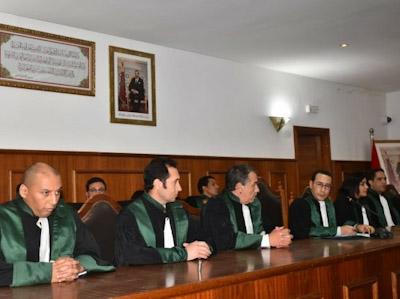 حفل تنصيب الاستاذ حميد حراش رئيسا جديدا على رأس المحكمة الابتدائية بابن جرير