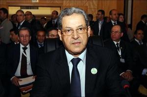 وزير الداخلية امحند العنصر/ ت: ا ف ب