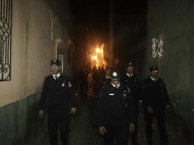 حملة أمنية تداهم أوكار تجار المخدرات وأصحاب الكريساج بابن جرير.