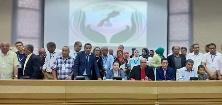المركز الوطني لحقوق الإنسان يصدر بيان مجلسه الوطني في ظل الردة الحقوقية