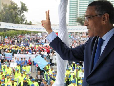 الاتحاد المغربي للشغل يراسل رئيس الحكومة و أعضاء لجنة اليقظة في شأن تمديد الدعم المادي للأجراء المتوقفين عن العمل إلى ما وراء شهر يونيو 2020