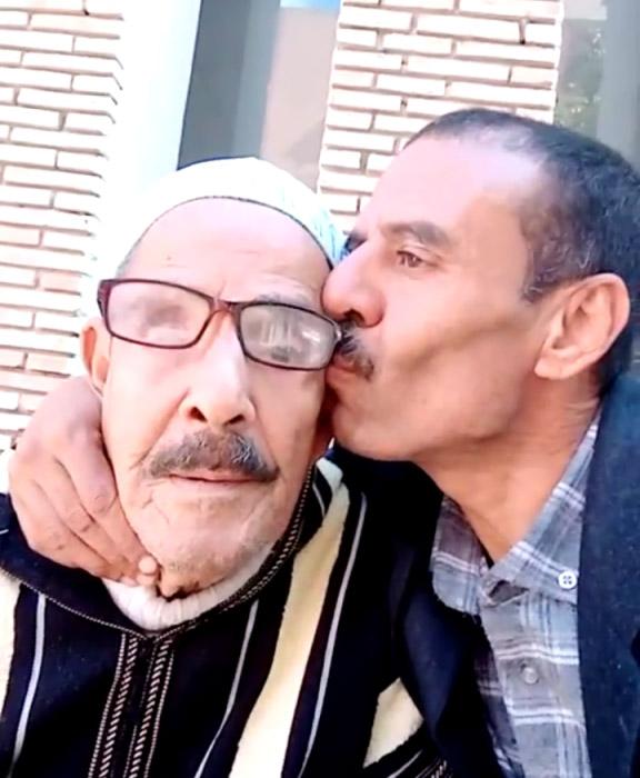 وفاة كبور لمفنن والد عبد الحق لمفنن رئيس نادي شباب ابن جرير لألعاب القوى